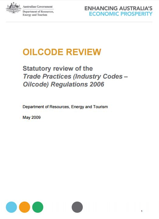 Oil Code Review Report