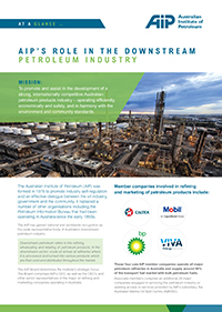 AIP role in the Downstream Petroleum Industry