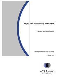 Liquid fuels vulnerability assessment