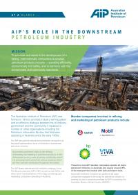 At a Glance: AIP's Role in the Downstream Petroleum Industry