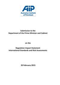 AIP International Standards RIS Submission