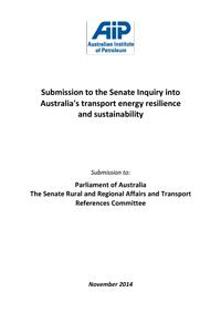 AIP Submission to the Senate Rural and Regional Affairs and Transport References Committee Inquiry