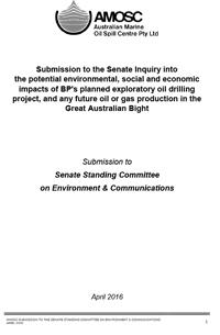 AMOSC Submission to the Senate Standing Committee on Environment and Communications