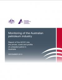 ACCC Formal Price Monitoring Report (December 2013) – Sixth Report